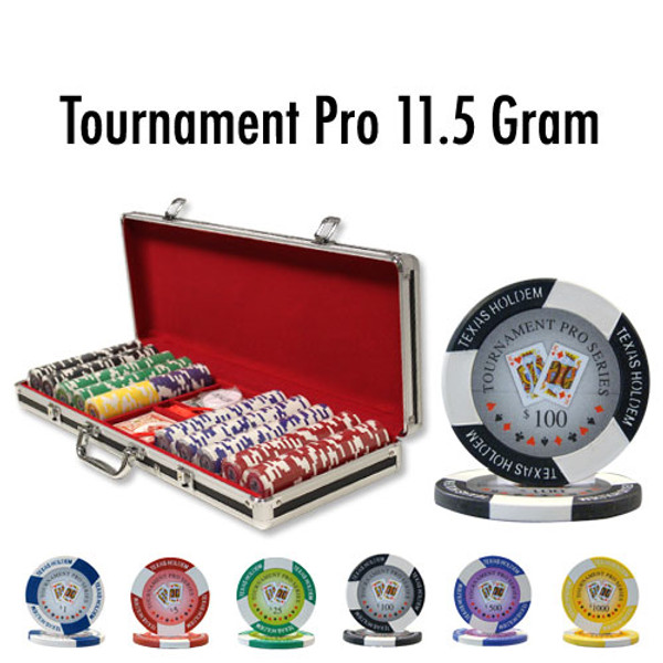 500 Ct - Custom - Tournament Pro 11.5G Black Aluminum
