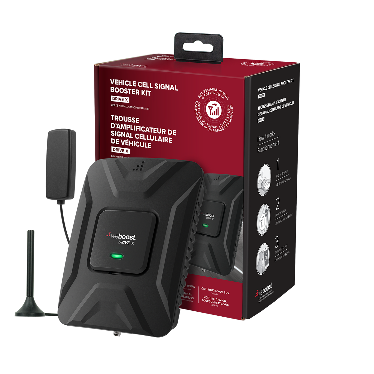 Wilson weBoost Drive X Cell Phone Signal Booster Kit