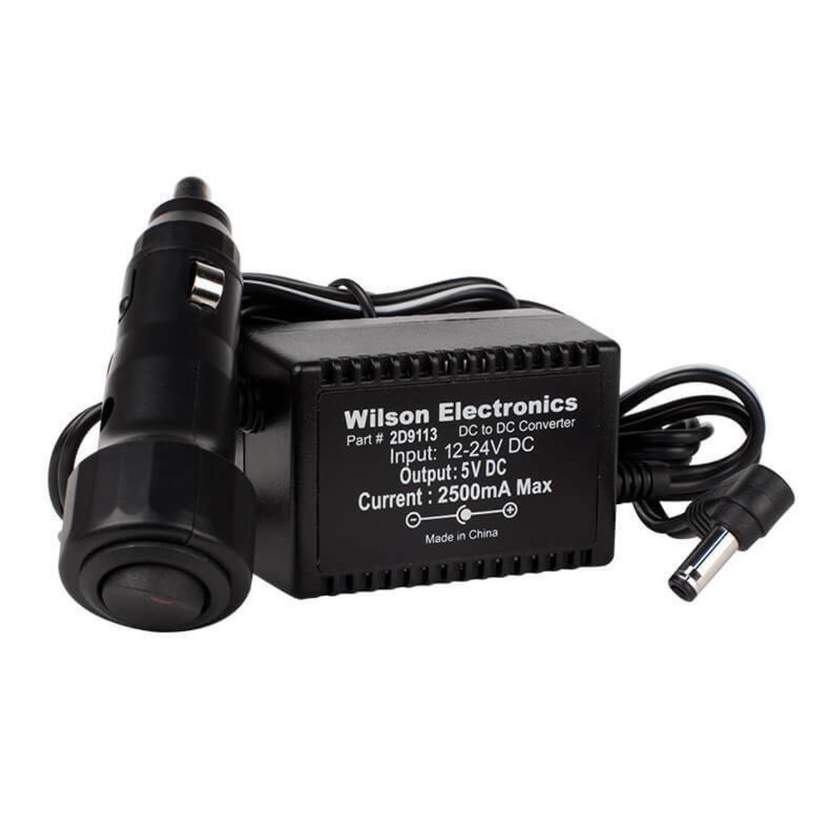 Wilson 859113 5V/2.5A DC Cigarette Lighter Power Supply