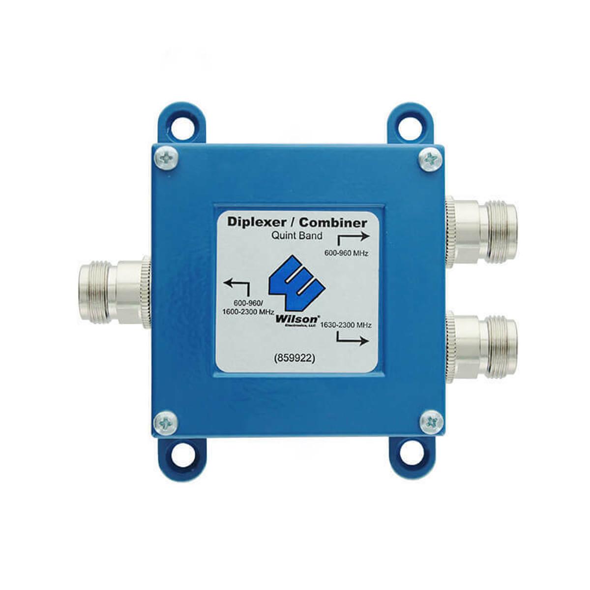 weBoost (Wilson) 859922 Quint Band Combiner / Diplexer for 700-2100MHz