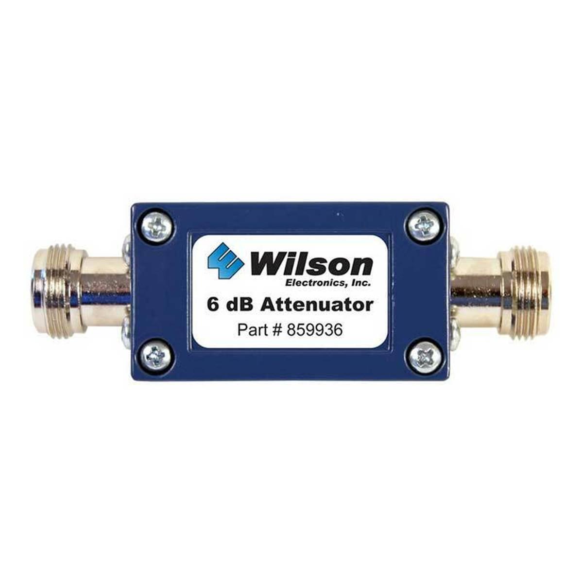 weBoost (Wilson) -6dB Attenuator w/ N-Female | 50 Ohm - 859936