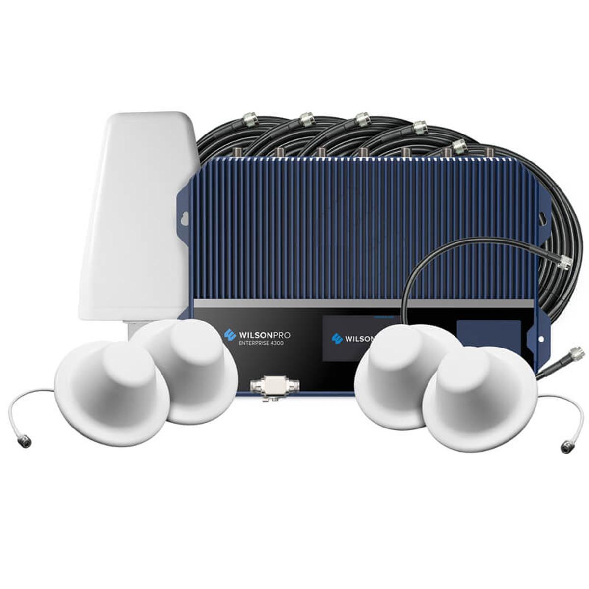 WilsonPro Enterprise 4300 Commercial Signal Booster Kit | 460152F