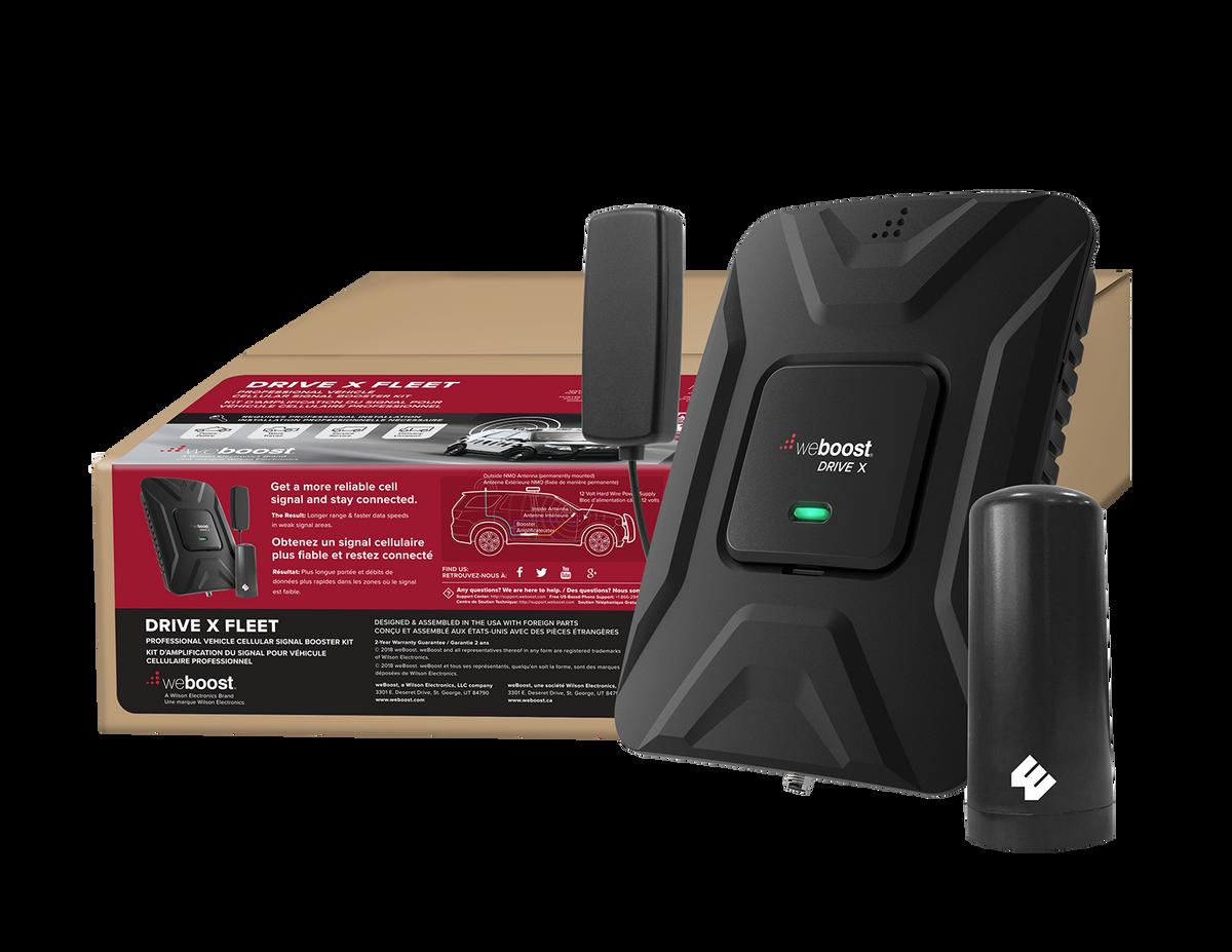 weBoost Drive X Fleet Cell Phone Signal Booster Kit - 653021