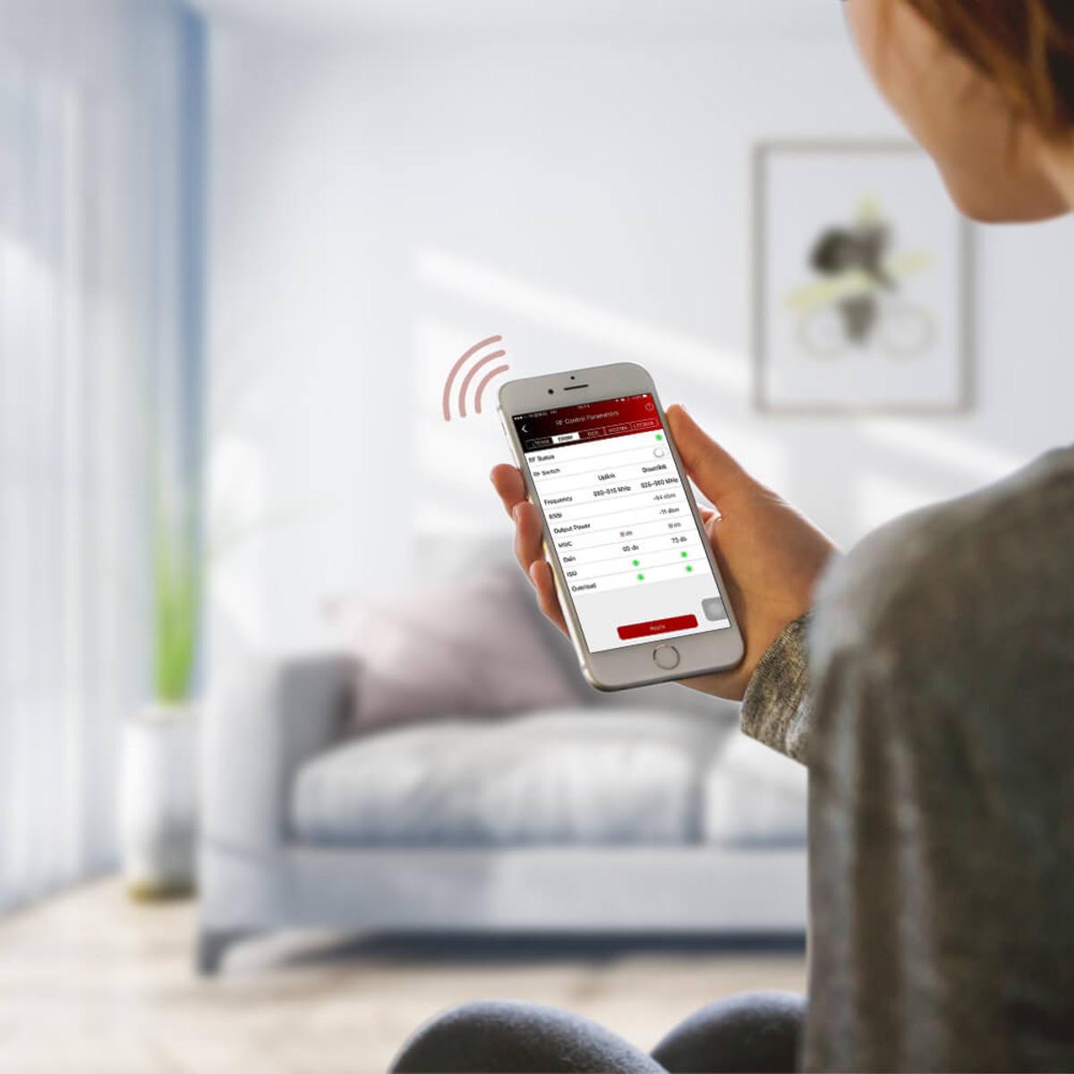 HiBoost Signal Supervisor App for Home 4K Plus Signal Booster