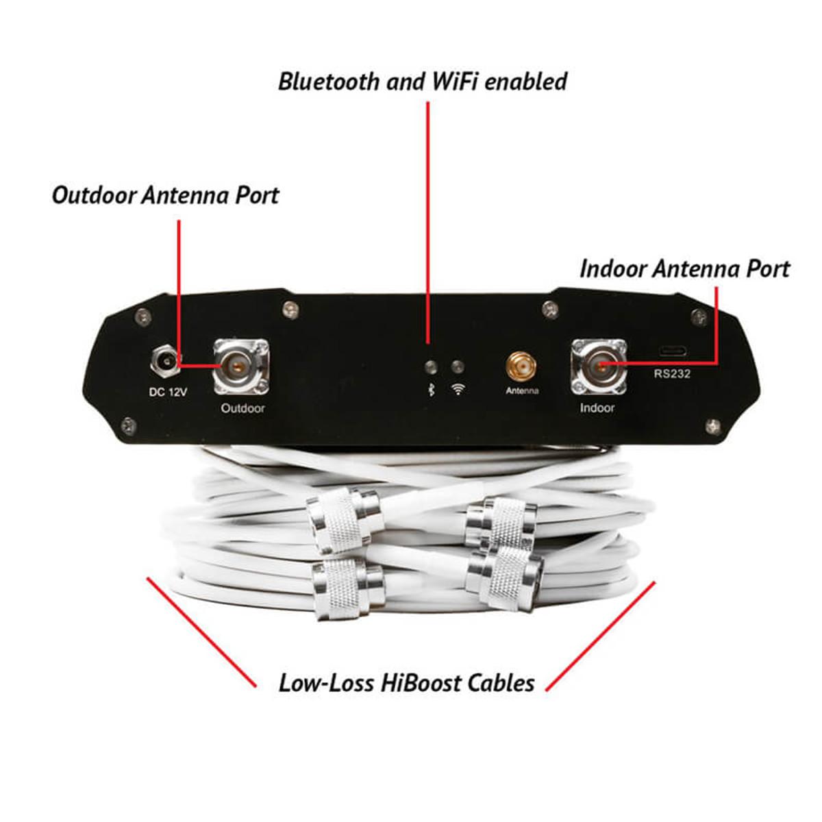 HiBoost Home 10K Smart Link Signal Booster Amplifier Back