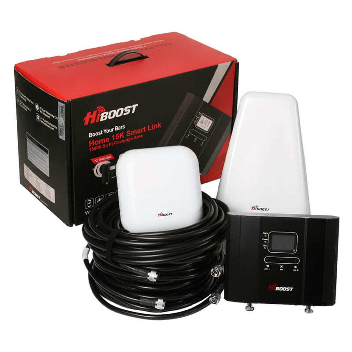 HiBoost Home 15K Smart Link Signal Booster Kit