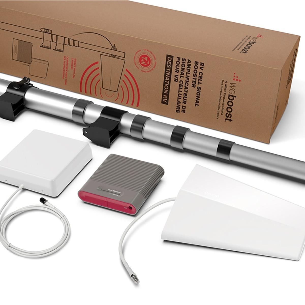 weBoost Destination RV Cellphone Signal Booster Kit - 470159