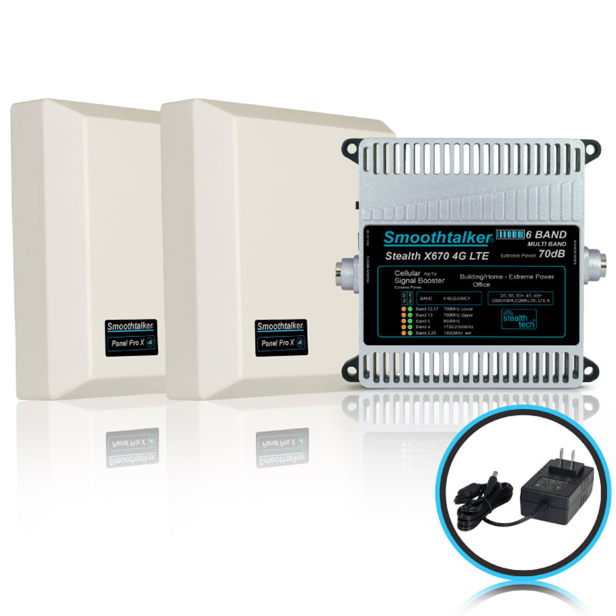 SmoothTalker Home Stealth X6 Extreme Power Series Signal Booster