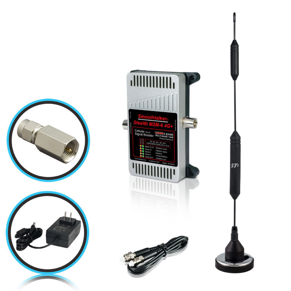 SmoothTalker Stealth M2M X6 Signal Booster