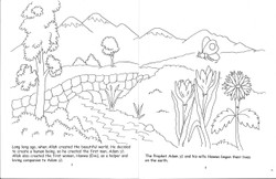The Two Sons of Adam Coloring Book