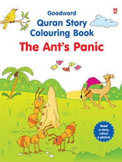 The Ants Panic Coloring Bk