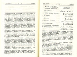 Chinese Translation with Arabic