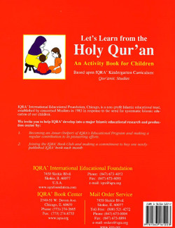 Let's Learn from the Holy Qur'an  (Activity Book)