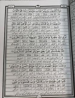 Aasan Tarjuma Urdu (word to word) by Hafiz Nazr Ahmed