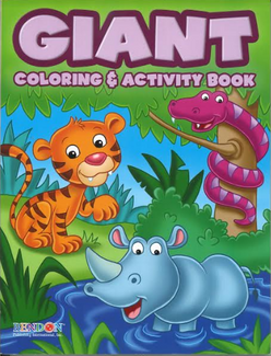 Giant Coloring Book...Kids
