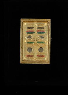 Holy Quran #122Q Majidi  with Urdu Translation, Black Velvet Kabba Box ,