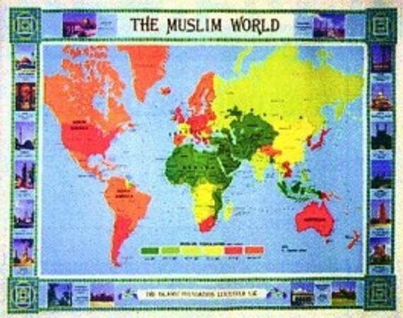 Muslim World Map