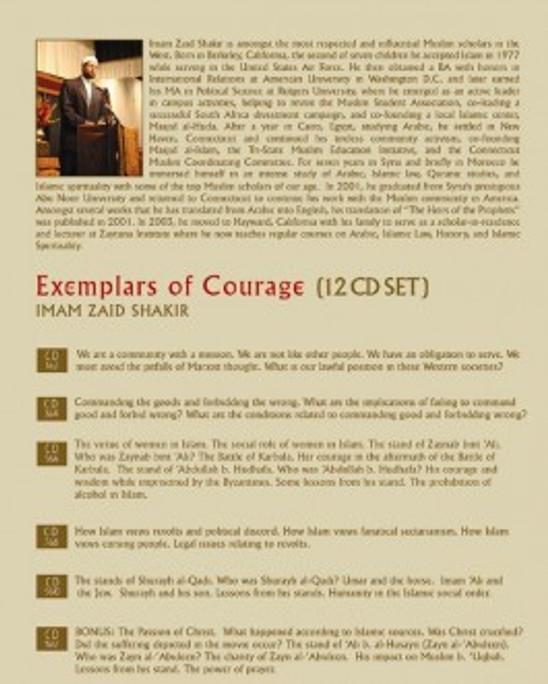 Exemplars of Courage by Imam Zaid Shakir
