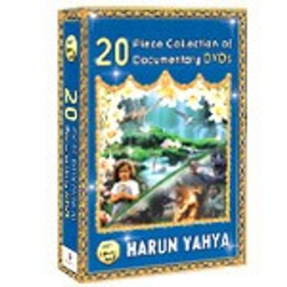 DVD SET: 20 Individual Dvds of Harun Yahya **NEW**(Based on The