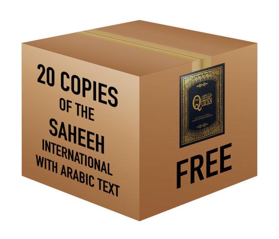 The Quran with Arabic Text by Saheeh International   20 Copies Bulk