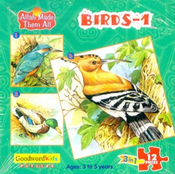 Birds 1: Allah Made Them All Puzzles