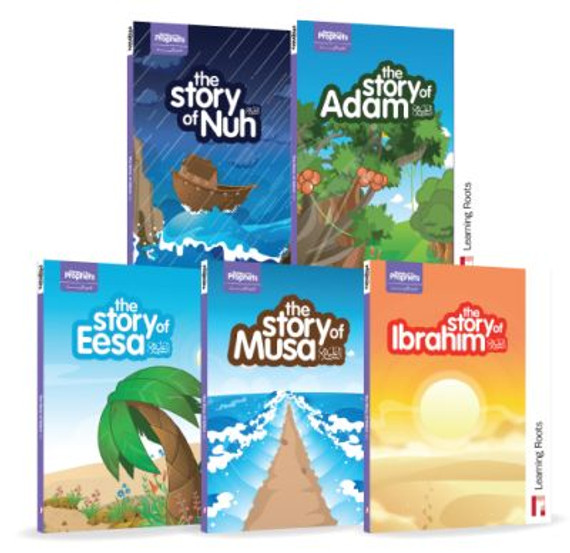 Stories of the Prophets (Multi-Pack) set of 5 Story Books