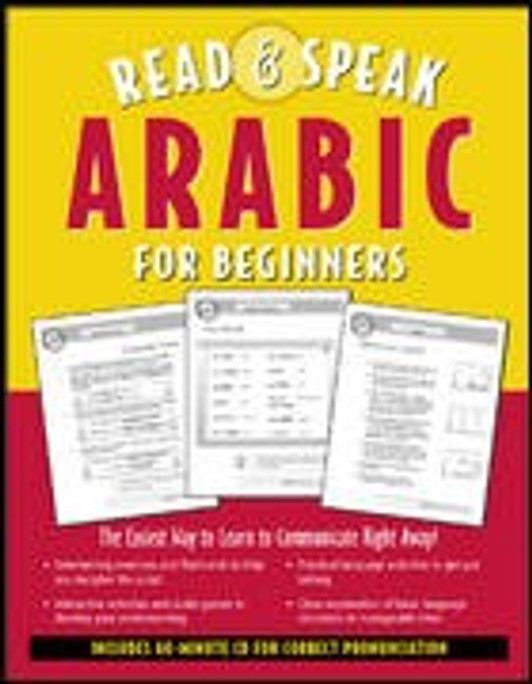 Read and Speak Arabic for Beginners (Book + Audio CD)