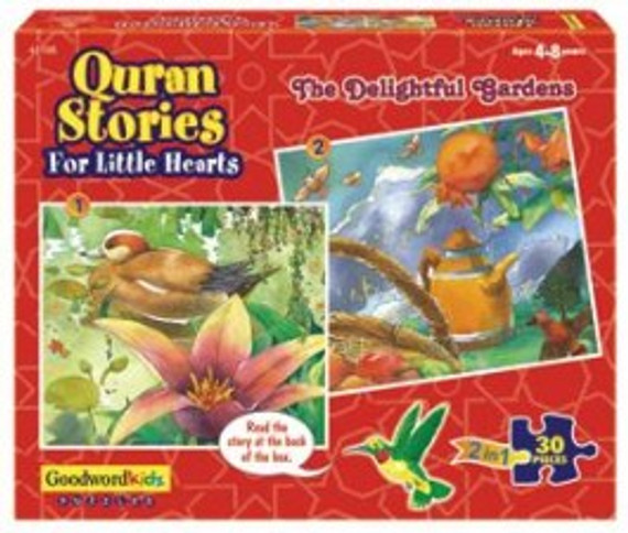 Quran Stories for Little Hearts: The Delightful Gardens [Puz