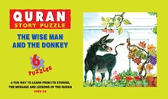 The Wise Man and the Donkey: Quran Story Puzzle