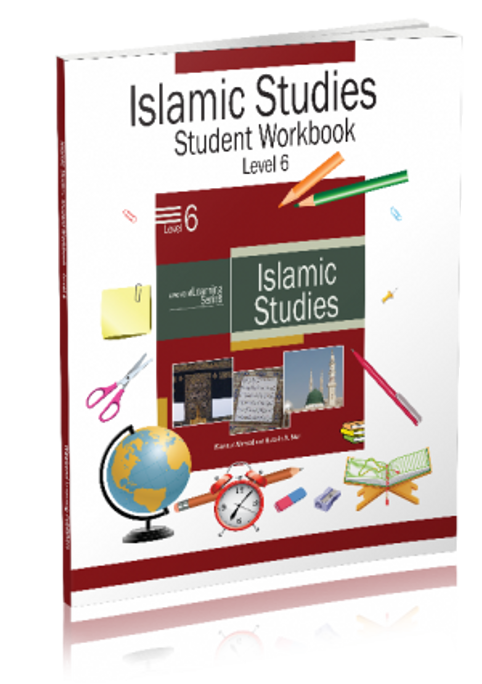 The Level 6 Islamic Studies Workbook is designed to complement the textbook for this level. The workbook has large number of test questions to cover each lesson in a comprehensive manner