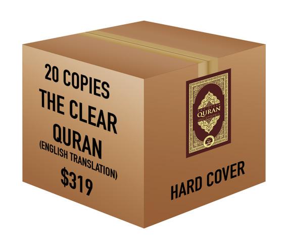 The Clear Quran® Series - English   Hardcover, 20 Copies Bulk