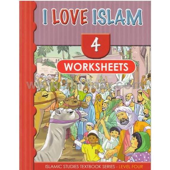 I Love Islam- Level 4 Worksheets