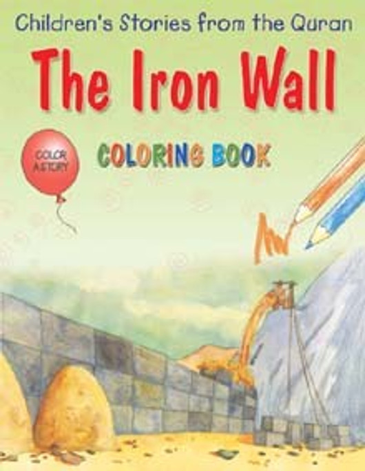 The Iron Wall (Colouring Book)