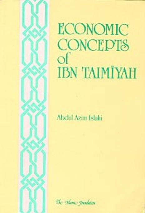 Economic Concepts of Ibn Taymiyya [PB]