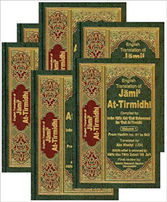 English Translation of Jami At-Tirmidhi (6 Vols.)