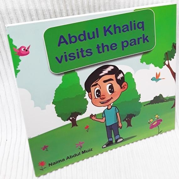 Abdul khaliq visits the park