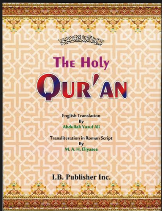 The Holy Quran with English translation and transliteration pocket size