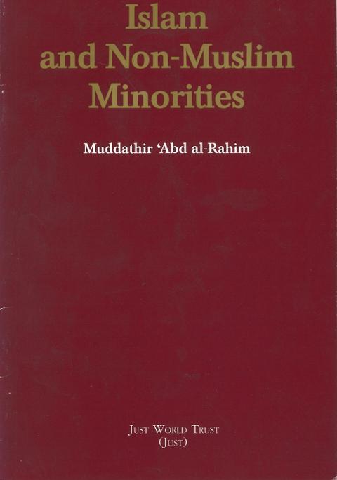 Islam and Non-Muslim Minorities
