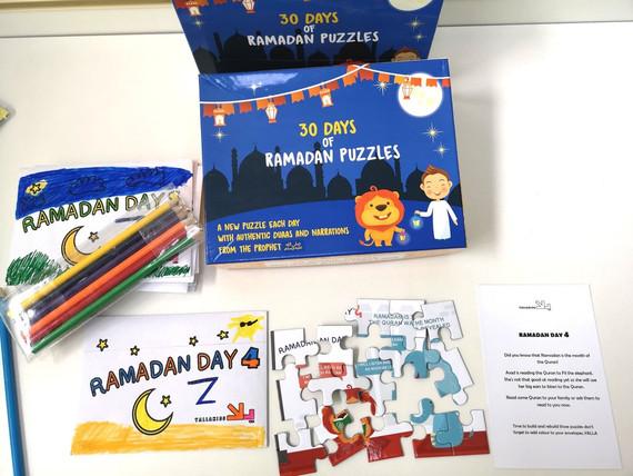 30 Days of Ramdan Puzzle
