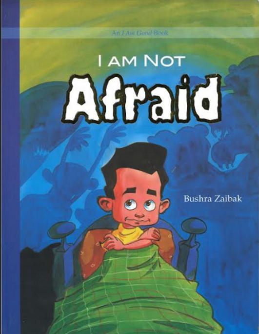 I am not AFRAID...Kids Giant story book
