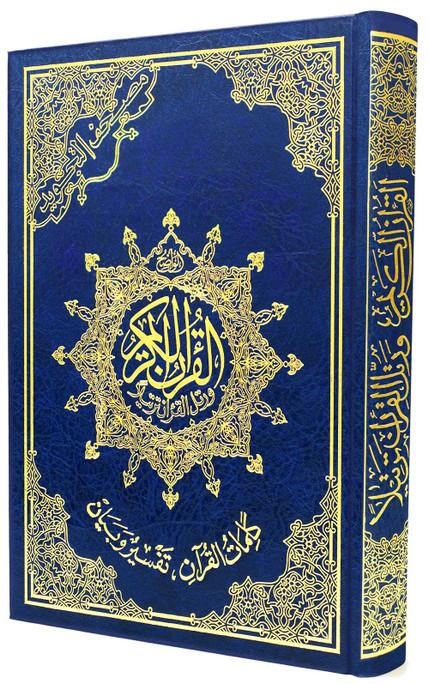 "Al Quran Ul Kareem with color coded Tajweed Rules Large 7""X 9"""