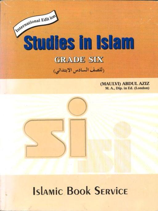 Studies in Islam....Grade Six