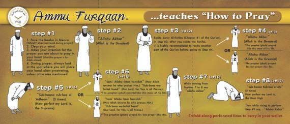 Ammu Furqaan Teaches How to Pray