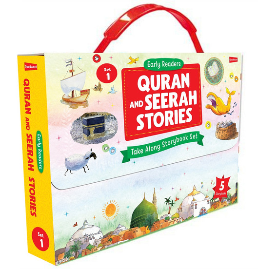 Quran and Seerah Stories: Take Along Storybook Set -1