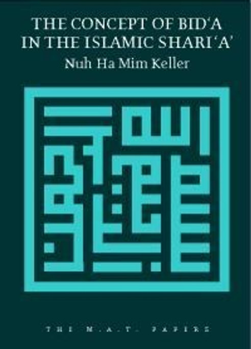 Concept of Bida In Islamic Sharia [PB]