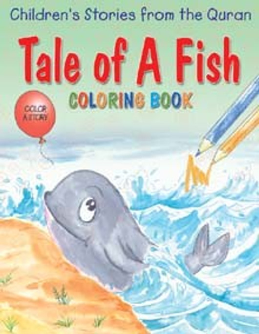 Tale of a Fish Coloring Bk
