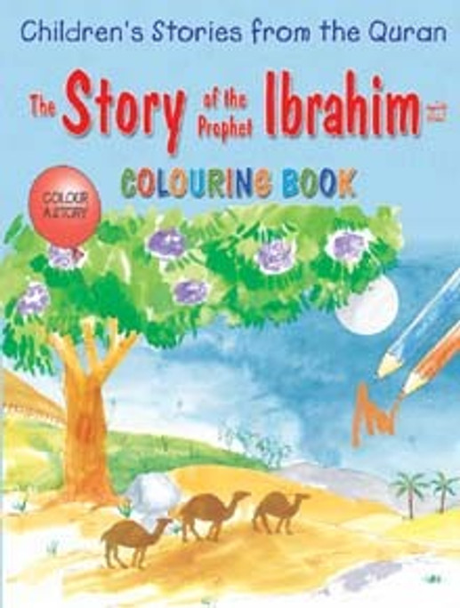 Story of Ibrahim Coloring Book