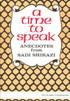 A Time to Speak: Anectodes from Sadi Shirazi
