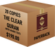 The Clear Quran® Series - with Arabic Text - Parallel Edition   Paperback, 20 Copies Bulk