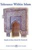 Tolerance Within Islam